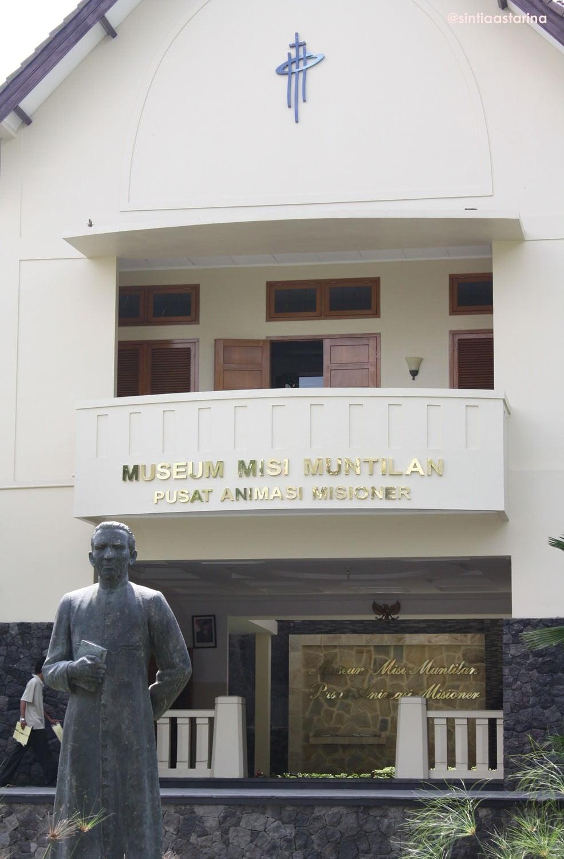 menguntit jejak katolik di museum misi muntilan
