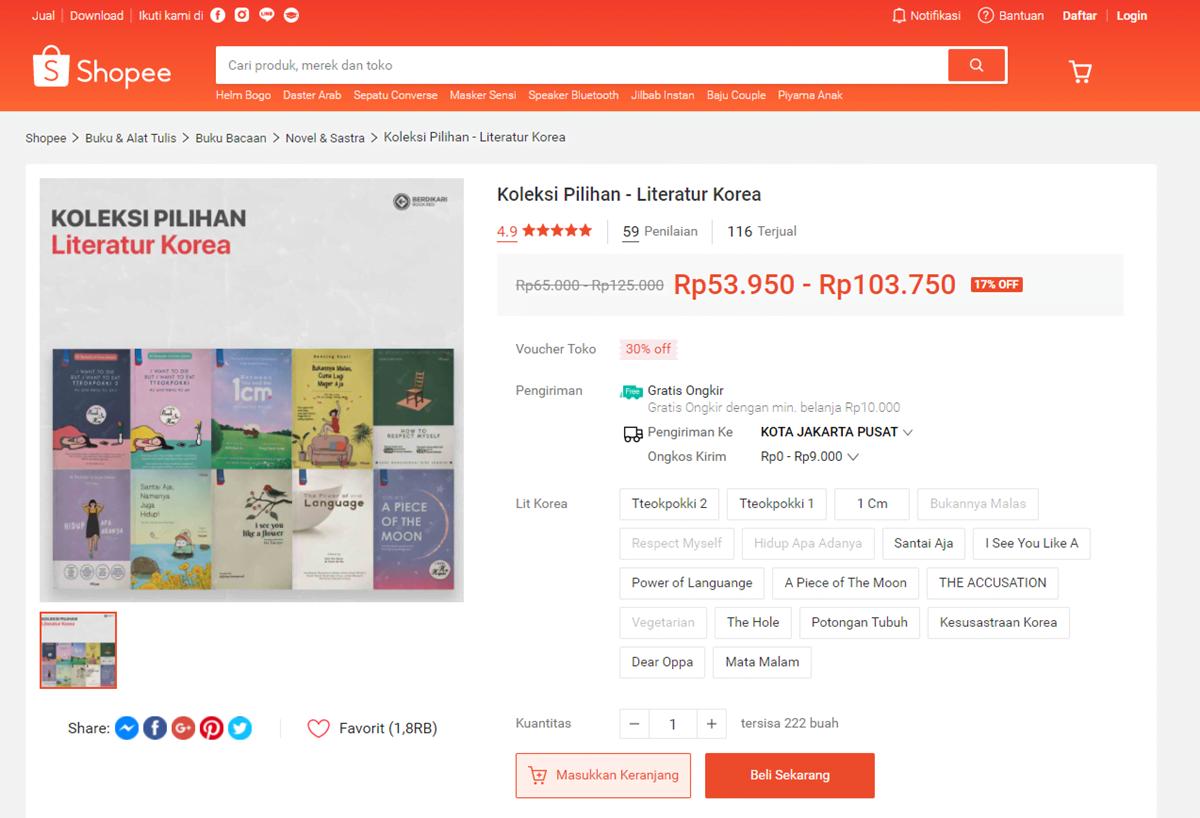 toko buku online - berdikari book
