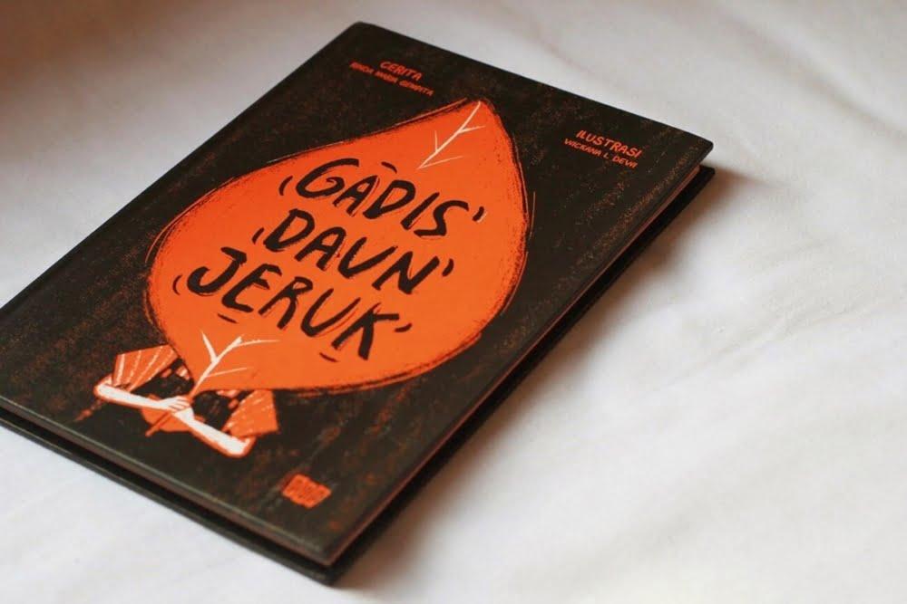 [BOOK REVIEW] Gadis Daun Jeruk, Novel Grafis Si Pengingat Mimpi