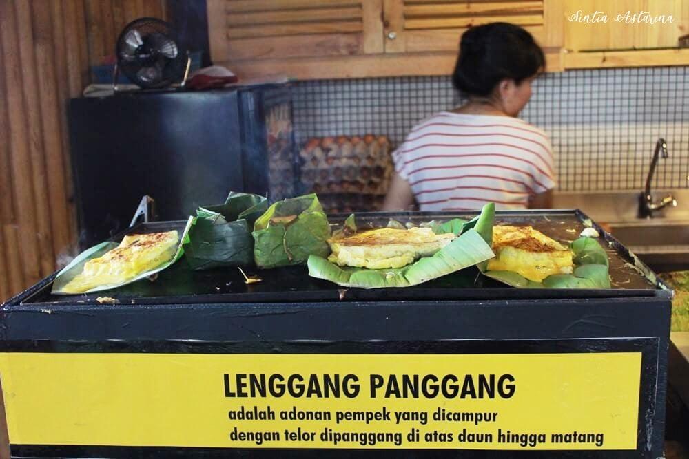 Pertama Kali Coba Lenggang Panggang Pempek Dempo Bandung