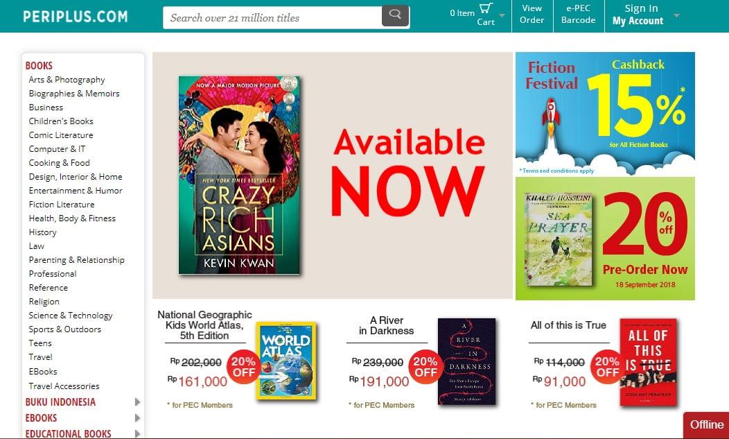 Asyiknya Belanja Buku di Periplus.com, Toko Buku Impor Langganan