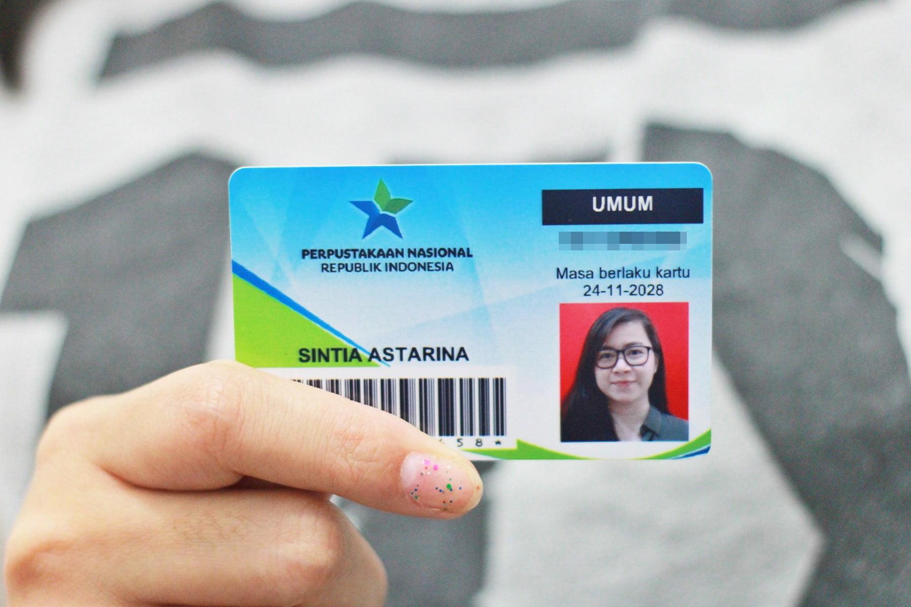 Panduan Membuat Kartu Anggota Perpustakaan Nasional Republik Indonesia