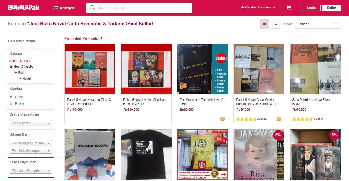 Cara Mudah Menemukan Buku yang Sedang Diskon di Toko Online