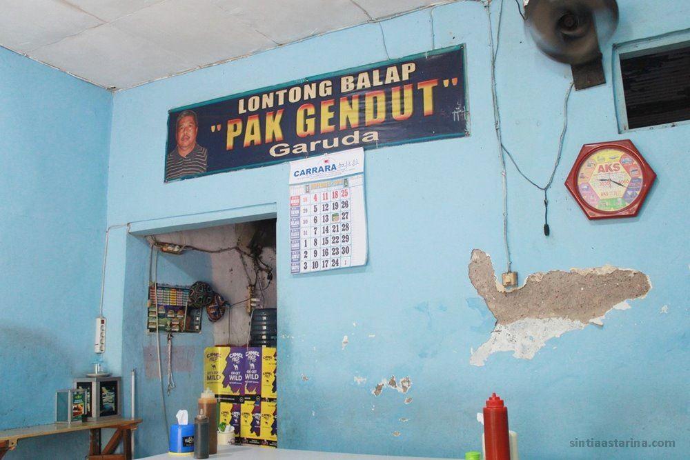 Sampai Surabaya Langsung Disambut Lontong Balap Pak Gendut