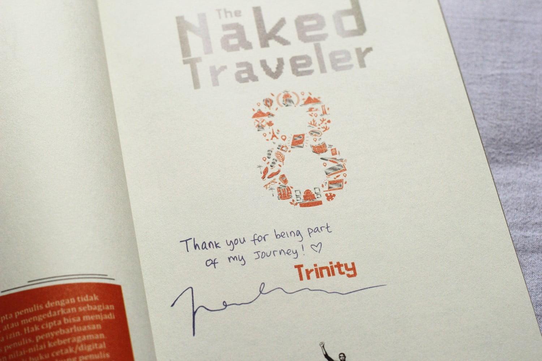 [BOOK REVIEW] The Naked Traveler 8 The Farewell Karya Trinity