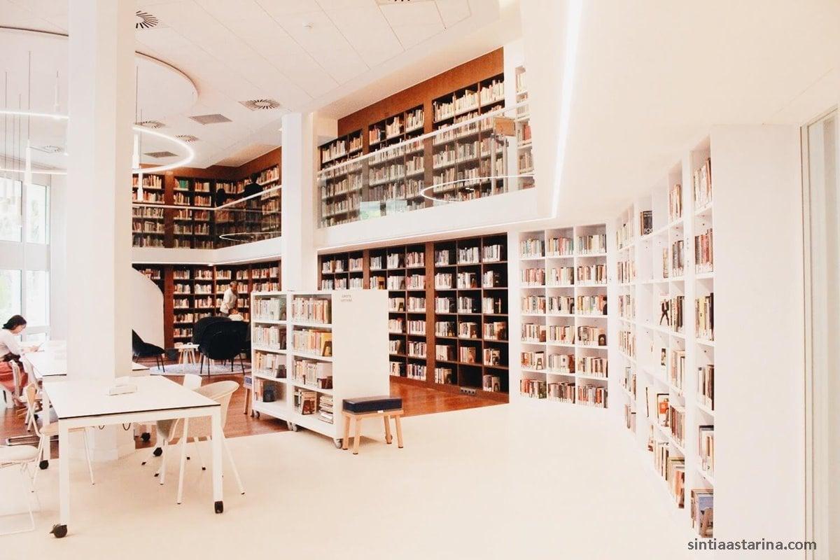 Singgah Sejenak di Perpustakaan Erasmus Huis Jakarta Selatan