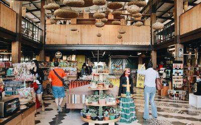 Habis Kenyang Kulineran, Beli Oleh-oleh Dulu di Pasar Khatulistiwa Dusun Bambu