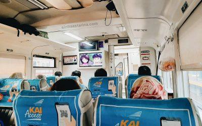 Hampir Ketinggalan Kereta Api Argo Parahyangan Eksekutif di Stasiun Bandung