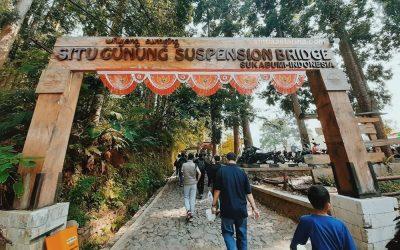 10 Tips Berkunjung ke Jembatan Situ Gunung Sukabumi