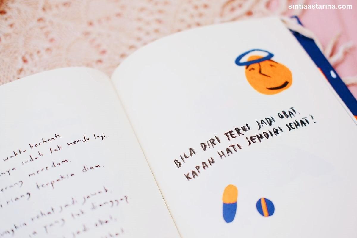 10 Kutipan Terbaik dari Buku Kamu Terlalu Banyak Bercanda karya Marcella FP