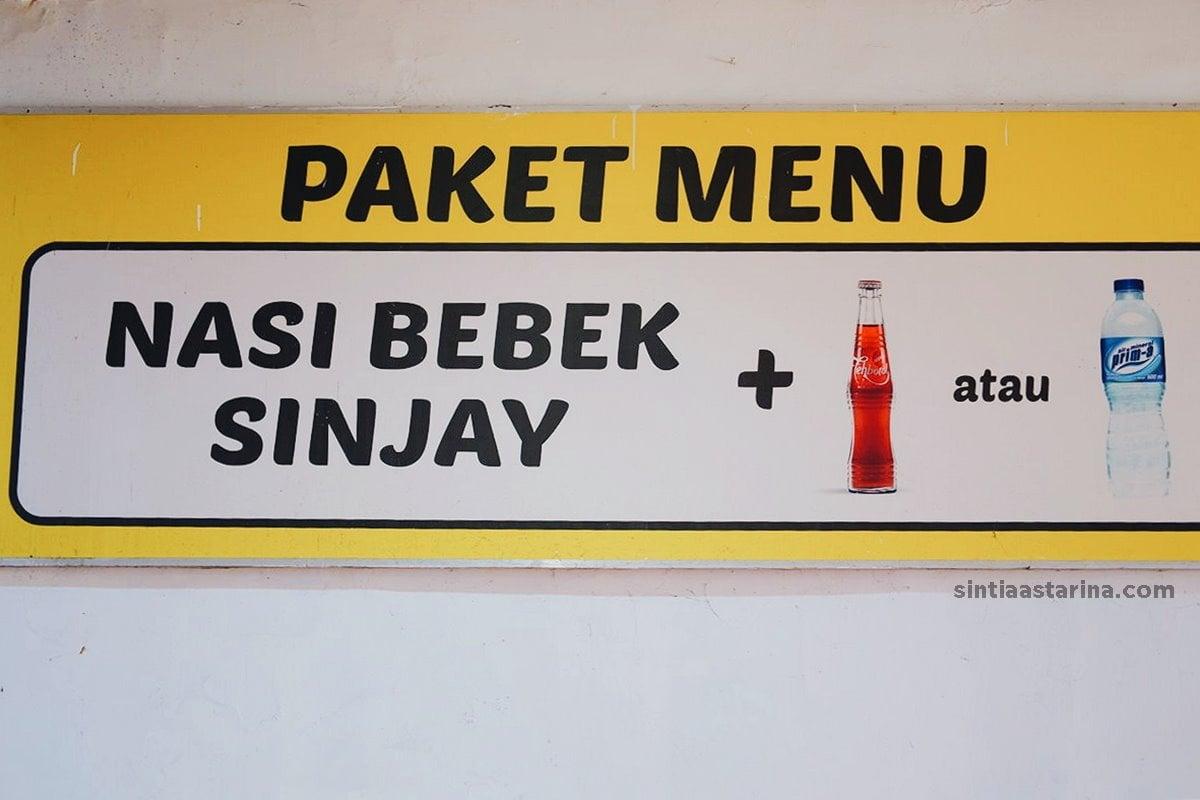 Bebek Sinjay Madura di Surabaya