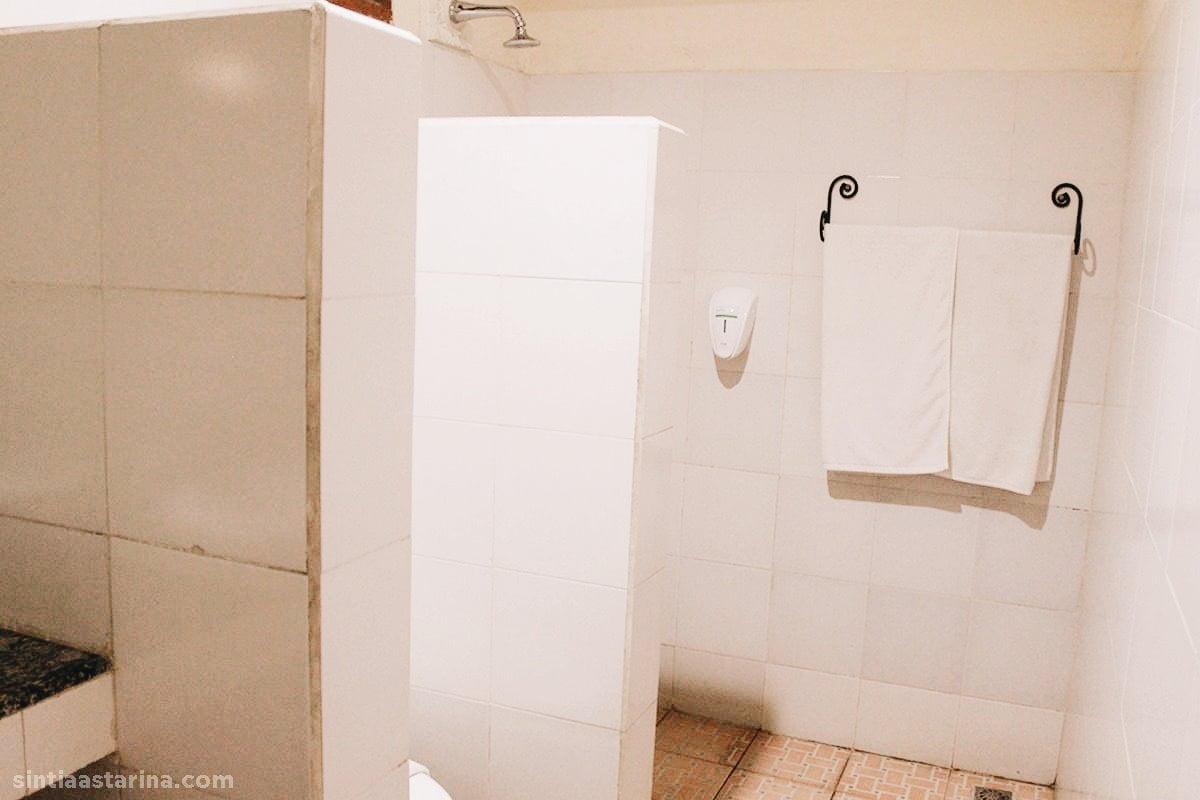 fasilitas kamar mandi di hotel