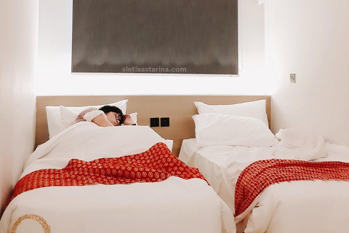 Qubika Hotel Serpong: Ngerasain Tidur di Dalam Kontainer